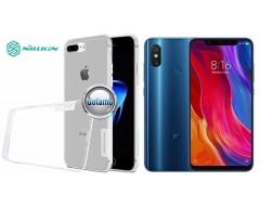 Nillkin silikoninis dėklas nugarėlė Xiaomi Mi 8, Xiaomi Mi 8 Pro telefonams