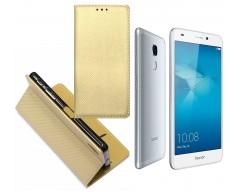 Re-Grid magnetinis dėklas Huawei Honor 7 Lite mobiliesiems telefonams aukso spalvos