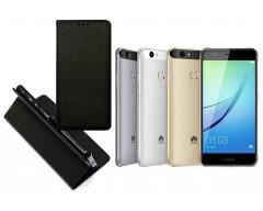 Re-Grid magnetinis dėklas Huawei Nova mobiliesiems telefonams juodos spalvos
