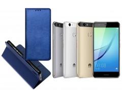 Re-Grid magnetinis dėklas Huawei Nova mobiliesiems telefonams mėlynos spalvos