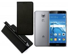 Re-Grid magnetinis dėklas Huawei Nova Plus mobiliesiems telefonams juodos spalvos