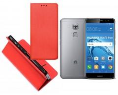 Re-Grid magnetinis dėklas Huawei Nova Plus mobiliesiems telefonams raudonos spalvos