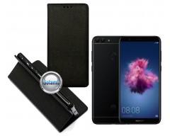 Re-Grid magnetinis dėklas Huawei P Smart telefonams juodos spalvos