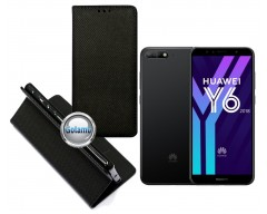 Re-Grid magnetinis dėklas Huawei Y6 (2018) Huawei Honor 7A telefonams juodos spalvos