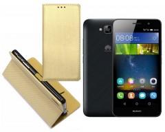 Re-Grid magnetinis dėklas Huawei Y6 Pro mobiliesiems telefonams aukso spalvos