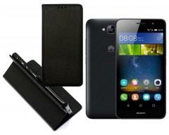 Re-Grid magnetinis dėklas Huawei Y6 Pro mobiliesiems telefonams juodos spalvos