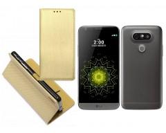 Re-Grid magnetinis dėklas LG G5 mobiliesiems telefonams aukso spalvos