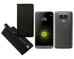 Re-Grid magnetinis dėklas LG G5 mobiliesiems telefonams juodos spalvos