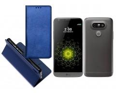 Re-Grid magnetinis dėklas LG G5 mobiliesiems telefonams mėlynos spalvos