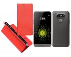 Re-Grid magnetinis dėklas LG G5 mobiliesiems telefonams raudonos spalvos