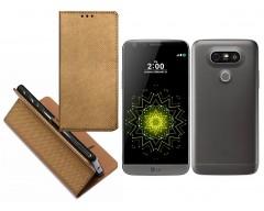 Re-Grid magnetinis dėklas LG G5 mobiliesiems telefonams vario spalvos
