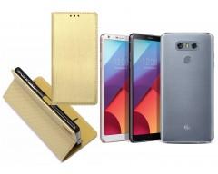 Re-Grid magnetinis dėklas LG G6 mobiliesiems telefonams aukso spalvos