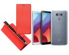 Re-Grid magnetinis dėklas LG G6 mobiliesiems telefonams raudonos spalvos