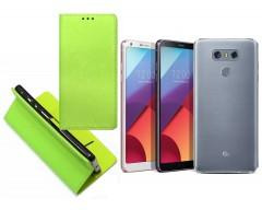Re-Grid magnetinis dėklas LG G6 mobiliesiems telefonams salotinės spalvos