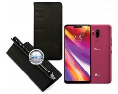 Re-Grid magnetinis dėklas LG G7 ThinQ telefonams juodos spalvos