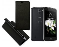 Re-Grid magnetinis dėklas LG K7 mobiliesiems telefonams juodos spalvos