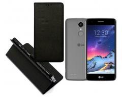Re-Grid magnetinis dėklas LG K8 (2017) mobiliesiems telefonams juodos spalvos
