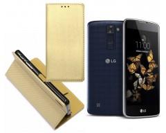 Re-Grid magnetinis dėklas LG K8 mobiliesiems telefonams aukso spalvos