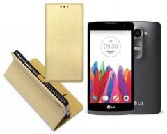 Re-Grid magnetinis dėklas LG Leon mobiliesiems telefonams aukso spalvos