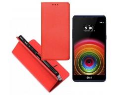 Re-Grid magnetinis dėklas LG X Power mobiliesiems telefonams raudonos spalvos