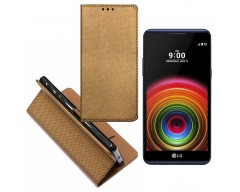 Re-Grid magnetinis dėklas LG X Power mobiliesiems telefonams vario spalvos