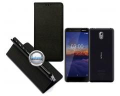 Re-Grid magnetinis dėklas Nokia 3.1 telefonams juodos spalvos
