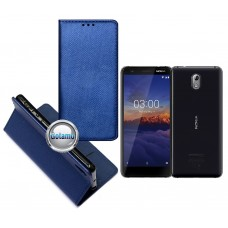 Re-Grid magnetinis dėklas Nokia 3.1 telefonams mėlynos spalvos Kaunas | Plungė | Šiauliai