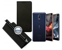 Re-Grid magnetinis dėklas Nokia 5.1 telefonams juodos spalvos
