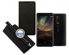 Re-Grid magnetinis dėklas Nokia 6.1 Nokia 6 (2018) telefonams juodos spalvos