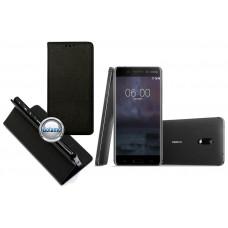 Re-Grid magnetinis dėklas Nokia 6 mobiliesiems telefonams juodos spalvos Klaipėda | Šiauliai | Telšiai