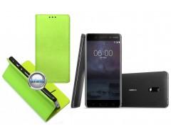 Re-Grid magnetinis dėklas Nokia 6 telefonams salotinės spalvos