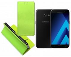 Re-Grid magnetinis dėklas Samsung Galaxy A3 (2017) mobiliesiems telefonams salotinės spalvos