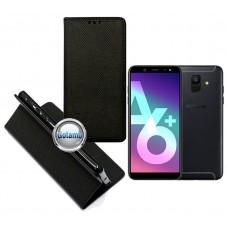 Re-Grid magnetinis dėklas Samsung Galaxy A6+ (2018) mobiliesiems telefonams juodos spalvos Palanga | Kaunas | Kaunas