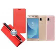 Re-Grid magnetinis dėklas Samsung Galaxy J3 (2017) telefonams raudonos spalvos Klaipėda | Kaunas | Palanga