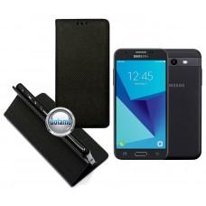 Re-Grid magnetinis dėklas Samsung Galaxy J3 Prime J3 Emerge mobiliesiems telefonams juodos spalvos Klaipėda | Šiauliai | Klaipėda