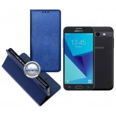 Re-Grid magnetinis dėklas Samsung Galaxy J3 Prime J3 Emerge mobiliesiems telefonams mėlynos spalvos Šiauliai | Plungė | Vilnius