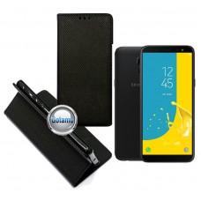 Re-Grid magnetinis dėklas Samsung Galaxy J6 (2018) telefonams juodos spalvos Klaipėda | Palanga | Telšiai