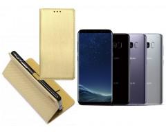Re-Grid magnetinis dėklas Samsung Galaxy S8 mobiliesiems telefonams aukso spalvos