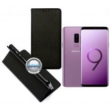 Re-Grid magnetinis dėklas Samsung Galaxy S9+ telefonams juodos spalvos