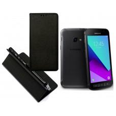 Re-Grid magnetinis dėklas Samsung Galaxy Xcover 4 mobiliesiems telefonams juodos spalvos Klaipėda | Plungė | Šiauliai