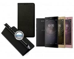 Re-Grid magnetinis dėklas Sony Xperia L2 telefonams juodos spalvos
