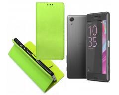 Re-Grid magnetinis dėklas Sony Xperia X Performance mobiliesiems telefonams salotinės spalvos