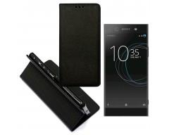 Re-Grid magnetinis dėklas Sony Xperia XA1 Ultra mobiliesiems telefonams juodos spalvos
