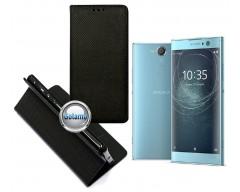 Re-Grid magnetinis dėklas Sony Xperia XA2 telefonams juodos spalvos