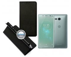 Re-Grid magnetinis dėklas Sony Xperia XZ1 Compact telefonams juodos spalvos