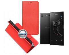 Re-Grid magnetinis dėklas Sony Xperia XZ1 telefonams raudonos spalvos