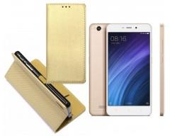 Re-Grid magnetinis dėklas Xiaomi Redmi 4A mobiliesiems telefonams aukso spalvos