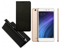 Re-Grid magnetinis dėklas Xiaomi Redmi 4A mobiliesiems telefonams juodos spalvos