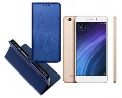 Re-Grid magnetinis dėklas Xiaomi Redmi 4A mobiliesiems telefonams mėlynos spalvos