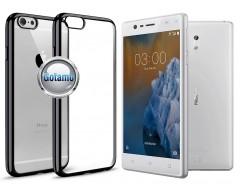 ReColor dėklas nugarėlė Nokia 3 telefonams juodos spalvos